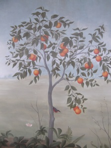 Orange Tree Mural