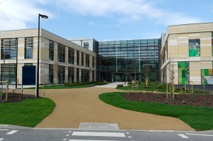 The shiny new Commons building at Bath Spa